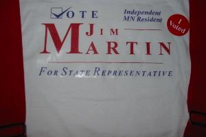 Jim Martin voted in the primary